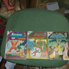 Tebeos: TRES COMICS DE BATMAN SERIE AGUILA NOVARO. Lote 269798688