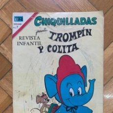Tebeos: CHIQUILLADAS PRESENTA: TROMPÍN Y COLITA Nº 308 - D8 - INCOMPLETO. Lote 270388048