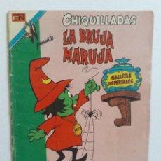 Tebeos: CHIQUILLADAS Nº 451 - SERIE ÁGUILA - LA BRUJA MARUJA - ORIGINAL EDITORIAL NOVARO. Lote 270904733
