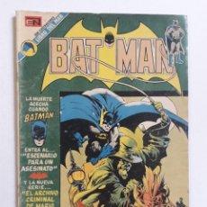 """Tebeos: BATMAN Nº 695 - """"ESCENARIO PARA UN ASESINATO"""" - ORIGINAL EDITORIAL NOVARO. Lote 270907983"""