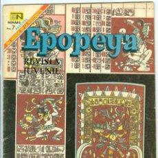 Tebeos: NOVARO. EPOPEYA. 129.. Lote 271252453