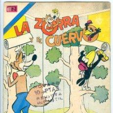 Giornalini: NOVARO. LA ZORRA Y EL CUERVO. 340.. Lote 271288463
