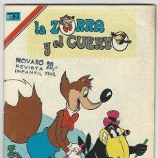Giornalini: NOVARO. LA ZORRA Y EL CUERVO. 442.. Lote 271304953