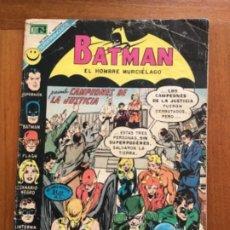 Tebeos: BATMAN- Nº 633. NOVARO - 1972.. Lote 271538163