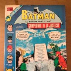 Tebeos: BATMAN- Nº 689. NOVARO - 1973.. Lote 271597613