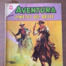 Tebeos: AVENTURA Nº 380. NOVARO - 1965. JINETES DEL OESTE. Lote 271971723