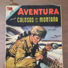 Tebeos: AVENTURA Nº 549. NOVARO - 1968. COLOSOS DE LA MONTAÑA. Lote 271972183
