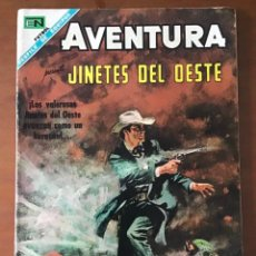 Livros de Banda Desenhada: AVENTURA Nº 562. NOVARO - 1968. JINETES DEL OESTE. Lote 273499708