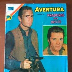 Tebeos: AVENTURA Nº 765. NOVARO - 1972. PRADERAS DEL OESTE. Lote 273594553