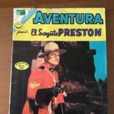 Tebeos: AVENTURA Nº 745. NOVARO - 1972. EL SARGENTO PRESTON. Lote 273597498