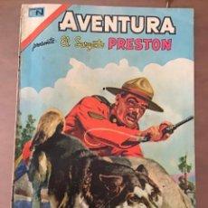 Livros de Banda Desenhada: AVENTURA Nº 3 - 13. NOVARO - 1977. EL SARGENTO PRESTON. Lote 273671263