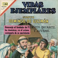 Livros de Banda Desenhada: VIDAS EJEMPLARES Nº 325 SANTO DOMINGO DE GUZMAN EDITORIAL NOVARO 1970. Lote 273715958