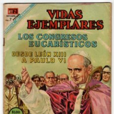 Livros de Banda Desenhada: VIDAS EJEMPLARES EXTRA Nº 10 (NOVARO 1968) LOS CONGRESOS EUCARÍSTICOS.. Lote 273947478