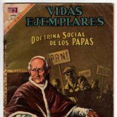 Livros de Banda Desenhada: VIDAS EJEMPLARES Nº 290 (NOVARO 1969) DOCTRINA SOCIAL DE LOS PAPAS.. Lote 273987858