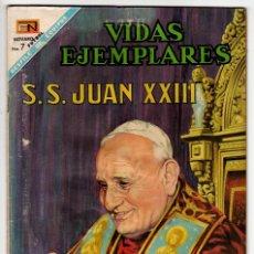 Livros de Banda Desenhada: VIDAS EJEMPLARES Nº 273 (NOVARO 1968) JUAN XXIII.. Lote 273989343