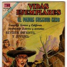 Livros de Banda Desenhada: VIDAS EJEMPLARES Nº 270 (NOVARO 1968) PADRE EUSEBIO KINO.. Lote 273989668