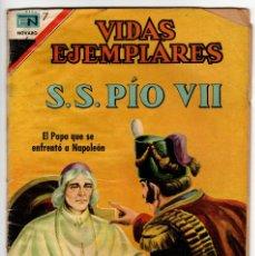 Livros de Banda Desenhada: VIDAS EJEMPLARES Nº 259 (NOVARO 1967) PIO XII.. Lote 273990298