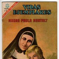 Livros de Banda Desenhada: VIDAS EJEMPLARES Nº 235 (NOVARO 1966) MADRE PAULA MONTALT.. Lote 273991958