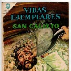 Livros de Banda Desenhada: VIDAS EJEMPLARES Nº 225 (NOVARO 1966) SAN CALIXTO.. Lote 273992168