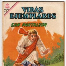 Livros de Banda Desenhada: VIDAS EJEMPLARES Nº 219 (NOVARO 1966) SAN PANTALEON. ¡¡RESERVADO, NO COMPRAR!!. Lote 273992313