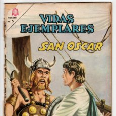 Livros de Banda Desenhada: VIDAS EJEMPLARES Nº 208 (NOVARO 1965) SAN OSCAR.. Lote 273992588