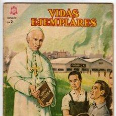 Livros de Banda Desenhada: VIDAS EJEMPLARES Nº 187 (NOVARO 1964) LEON XIII.. Lote 273993108