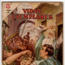Livros de Banda Desenhada: VIDAS EJEMPLARES Nº 183 (NOVARO 1964) SAN VIATOR.. Lote 273993348