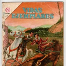 Livros de Banda Desenhada: VIDAS EJEMPLARES Nº 169 (NOVARO 1964) SAN FRANCISCO DE BORJA.. Lote 273994078