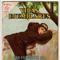 Livros de Banda Desenhada: VIDAS EJEMPLARES Nº 168 (NOVARO 1964) SAN FRANCISCO MARIA DE CAMPOROSSO.. Lote 273994353
