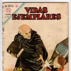 Livros de Banda Desenhada: VIDAS EJEMPLARES Nº 166 (NOVARO 1964) SAN VICENTE PALLOTI.. Lote 273994683