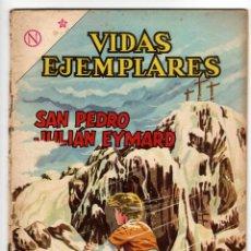 Livros de Banda Desenhada: VIDAS EJEMPLARES Nº 162 (NOVARO 1963) SAN PEDRO JULIAN EYMARD.. Lote 273995093
