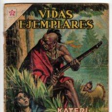 Livros de Banda Desenhada: VIDAS EJEMPLARES Nº 151 (NOVARO 1963) KATERI TEKAKWITHA.. Lote 273995798