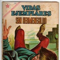 Livros de Banda Desenhada: VIDAS EJEMPLARES Nº 122 (NOVARO 1962) SAN HERMENEGILDO.. Lote 273996063