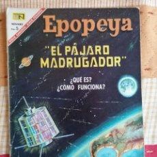 Tebeos: EPOPEYA, EL PÁJARO MADRUGADOR, Nº 107. AÑO 1967 - EDITORIAL NOVARO. Lote 251974965