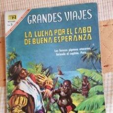 Tebeos: GRANDES VIAJES Nº 50 : LA LUCHA POR EL CABO DE BUENA ESPERANZA (NOVARO) AÑO 1967. Lote 274802598