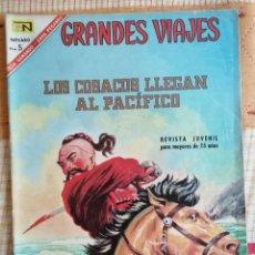 Tebeos: GRANDES VIAJES Nº 49 : LOS COSCOS LLEGAN AL PACIFICO (NOVARO) AÑO 1967. Lote 274802818