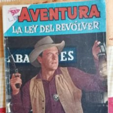 Tebeos: AVENTURA : LA LEY DEL REVOLVER - AÑO VII - N.º 155 - 27 DE DICIEMBRE DE 1960 , ED. NOVARO. Lote 274808153