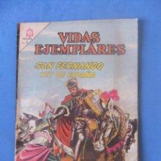 Tebeos: VIDAS EJEMPLARES Nº 194 SAN FERNANDO REY DE ESPAÑA NOVARO. Lote 275060608