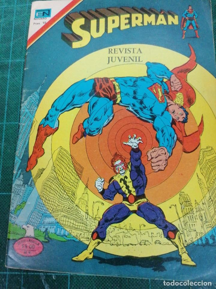 SUPERMAN. AÑO XXVI. N. 2-1124 (Tebeos y Comics - Novaro - Superman)