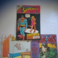 Tebeos: TEBEOS NOVARO SUPERMAN. Lote 275100898