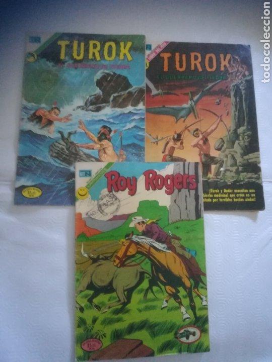 TEBEOS NOVARO ROY ROGERS (Tebeos y Comics - Novaro - Roy Roger)