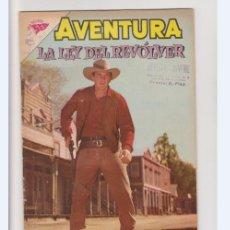 Tebeos: AVENTURA NUMERO 264 LA LEY DEL REVOLVER DE LA EDITORIAL NOVARO. Lote 275581403