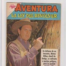 Tebeos: AVENTURA NUMERO 230 LA LEY DEL REVOLVER DE LA EDITORIAL NOVARO. Lote 275582063