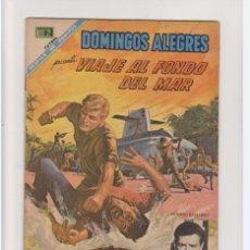 Tebeos: DOMINGOS ALEGRES NUMERO 760 VIAJE AL FONDO DEL MAR DE LA EDITORIAL NOVARO. Lote 275583623