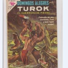 Tebeos: DOMINGOS ALEGRES NUMERO 491 TUROK. DE LA EDITORIAL NOVARO. Lote 275586238
