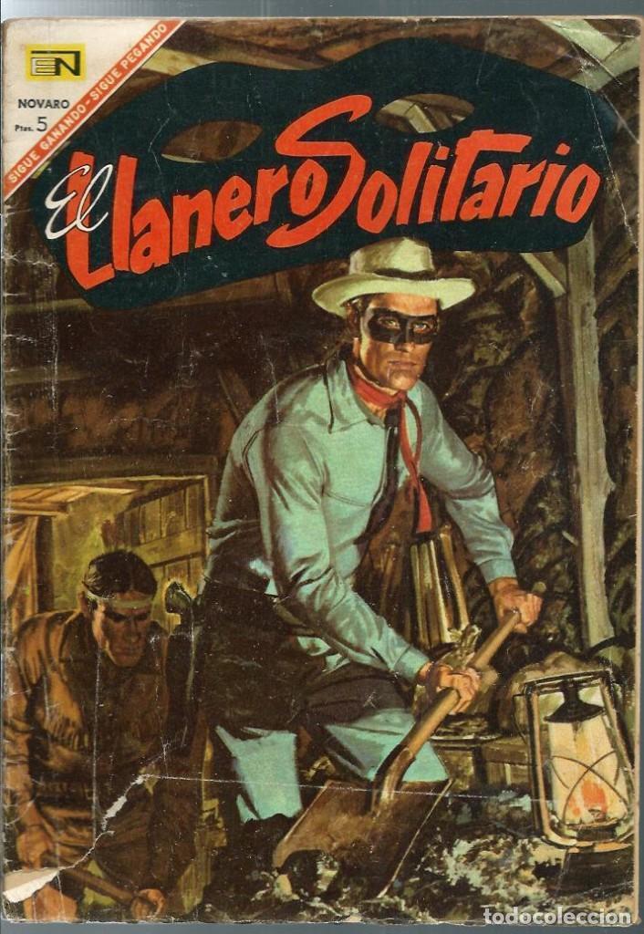 EL LLANERO SOLITARIO Nº 168 - LA BANDA FANTASMA - NOVARO 1967 (Tebeos y Comics - Novaro - El Llanero Solitario)