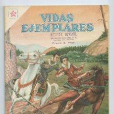 Tebeos: VIDAS EJEMPLARES Nº 65 : SAN FRANCISCO DE BORJA. ED. NOVARO, SEPT 1959. Lote 275948663