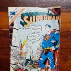 Tebeos: SUPERMAN. REVISTA JUVENIL. NOVARO. N°937. AÑO 1973.. Lote 275950768