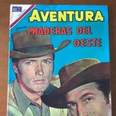 Tebeos: AVENTURA Nº 609. NOVARO - 1969. PRADERAS DEL OESTE. Lote 276127523