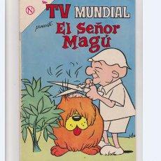 Tebeos: TV MUNDIAL NUMERO 20 EL SEÑOR MAGU. Lote 276214203